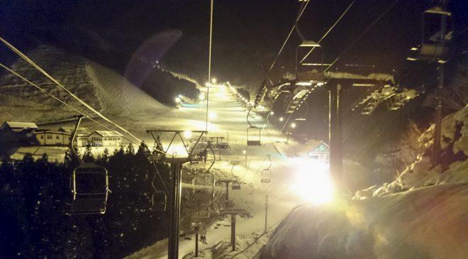 越後湯沢で思いっきりナイターを滑るなら神立高原スキー場へ Kandatsu Kogen