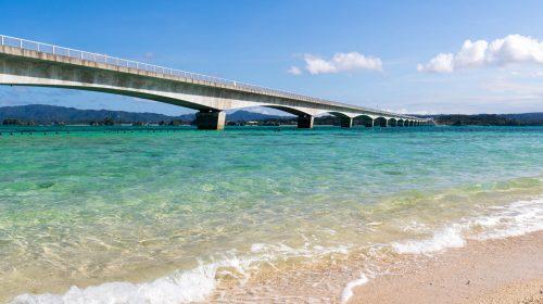 沖縄でおすすめの絶景ビーチと海を楽しむなら 古宇利島 Kouri Island, Beautiful Beach and Sea in Okinawa