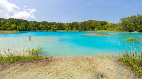 神秘的な輝きで魅了する福島県の絶景 五色沼 Amazing Color of Nature, Goshiki Swamp, Fukushima