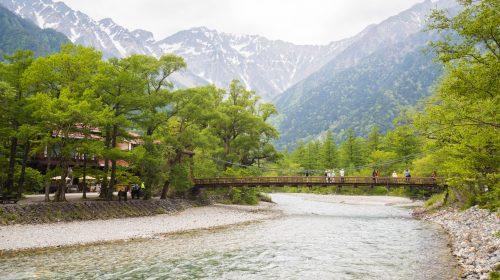 一度は訪れてみたい長野の絶景特別名勝 上高地 Kamikochi, Government Designated Special Scenic Beauty in Japan