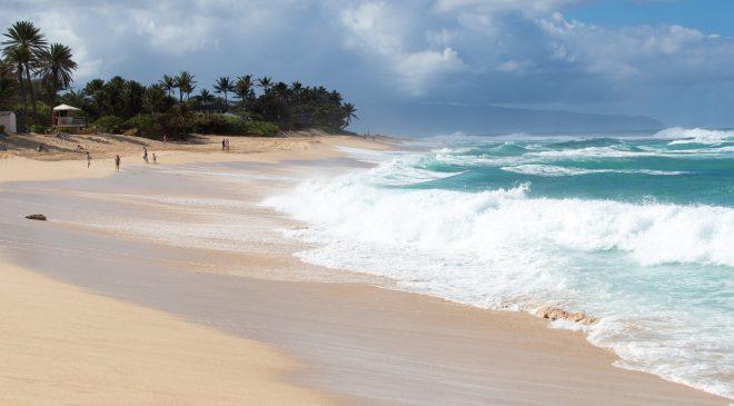 ハワイ旅行記2017その11 高波が楽しめる世界でも有数のサーフィンスポット サンセットビーチ Hawaii Trip 2017 Surfing Spot in Hawaii, Sunset Beach