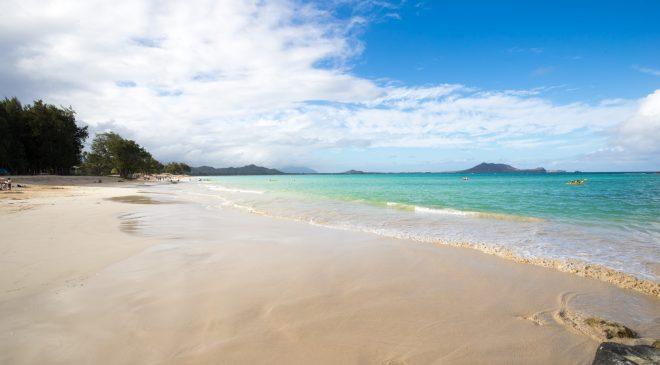 ハワイ旅行記2017その14 アクセス良好のカイルアビーチ Hawaii Trip 2017 Kailua Beach