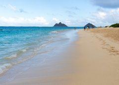 ハワイ旅行記2017その15 全米No.1ビーチ 天国のビーチと呼ばれるラニカイビーチ Hawaii Trip 2017 Lanikai Beach