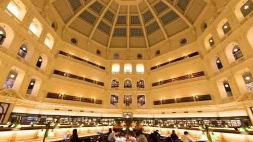 アデレード旅行ブログ2017その4 メルボルンの観光名所 ビクトリア州立図書館はおすすめ Adelaide Trip 2017 Melbourne Victoria State Library