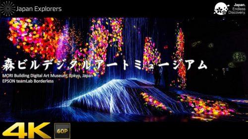 動画で国内旅行 世界初のデジタルアートミュージアム MORI Building Digital Art Museum in Odaiba